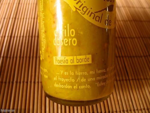 Poesía al borde de Salsa Habanera Chimay. (foto: © Rudy A. Girón)