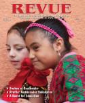 Una de mis fotografías de niñas Guadalupanas es portada de Revue Magazine de abril 2013