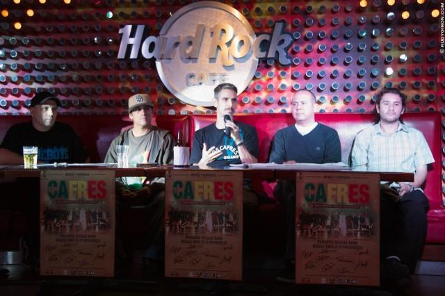 Meet-n-Greet de Los Cafres en Hard Rock Café en Guatemala image by Rudy Giron + http://photos.rudygiron.com© Rudy Giron