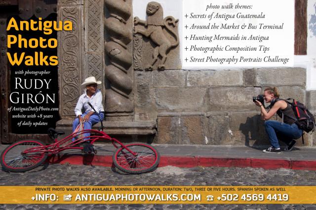 Antigua Photo Walks with photographer Rudy Giron