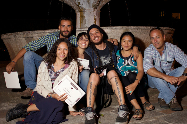 Foundry Photo Journalism Workshop Students by Rudy Girón