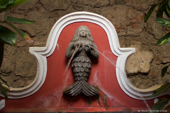 Rudy Giron: Mermaids &emdash; Sirena de Café Condesa, Antigua Guatemala