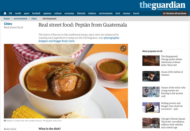 Interviewed by The Guardian About Street Photography in Antigua Guatemala.