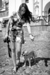 Street Photography — The Photographer and Her Chucha in Recovery by Rudy Giron