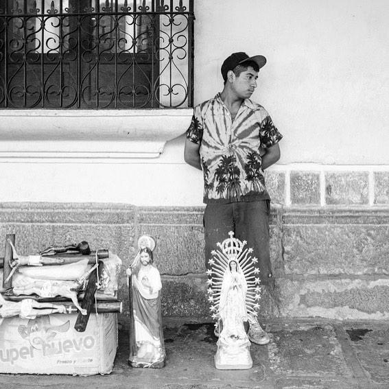 Street Photography — Saints for Sale in Antigua Guatemala
