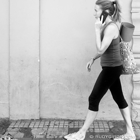 Street Photography — Yoga Bound