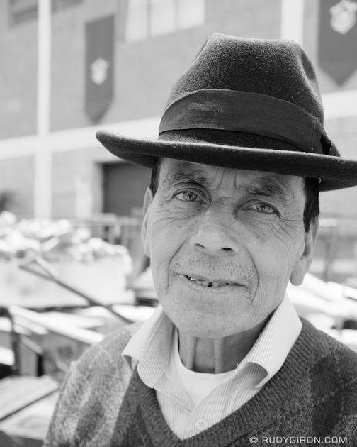 Rudy Giron: Antigua Guatemala &emdash; Street Portraits of Strangers — Maya man from Santa María de Jesús, Guatemala