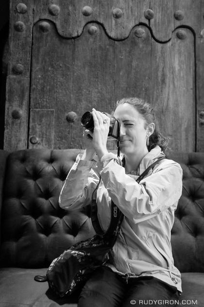 Rudy Giron: Antigua Guatemala &emdash; Street Photography — Street portrait of photographer