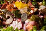 coloridas fotografías del fiambre guatemalteco